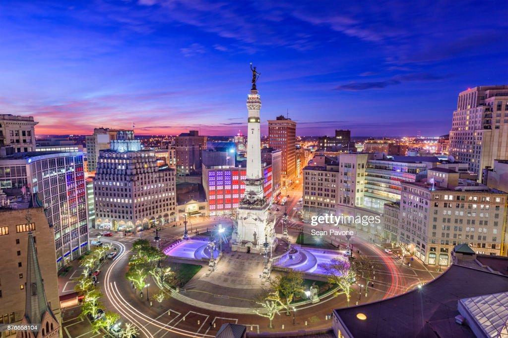 Indianapolis, Indiana, USA : Stock Photo