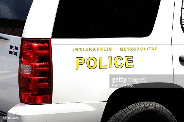 Indianapolis Police K9 Vehicle on July 16, 2015 in Indianapolis, Indiana.