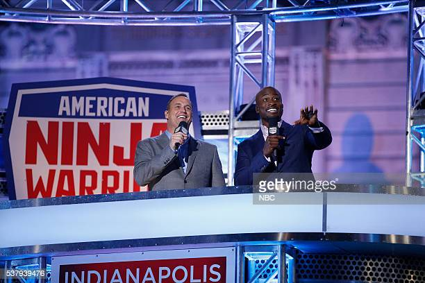 WARRIOR 'Indianapolis Qualifier' Pictured Matt Iseman Akbar Gbajabiamila