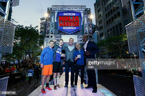 WARRIOR 'Indianapolis Qualifier' Pictured Ricky Stenhouse Jr Josef Newgarden Matt Iseman Tony Kanaan Akbar Gbajabiamila