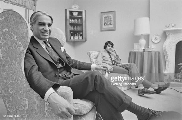 Indian-born British businessman Narindar Saroop , UK, 25th February 1974. He became a Councillor for the Royal Borough of Kensington and Chelsea that...