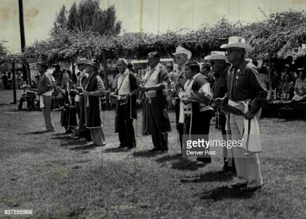 Indians Colorado UTE/Comanche Peace Treaty Credit Denver Post