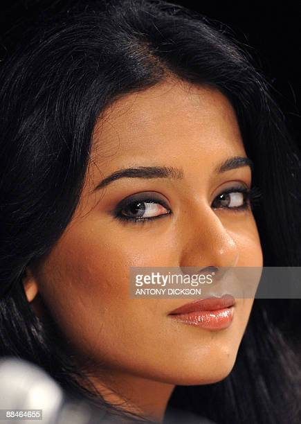 India's Amrita Rao actress in the movie 'Short KutThe Con Is On' attends a press conference at the Venetian Hotel on the third and final day of the...