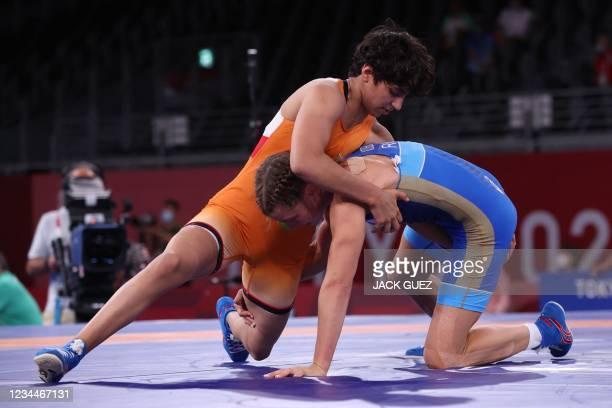 JPN: Wrestling - Olympics: Day 13