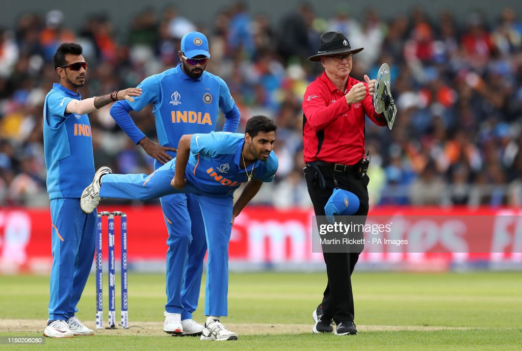 India v Pakistan - ICC Cricket World Cup - Group Stage - Emirates Old Trafford : News Photo