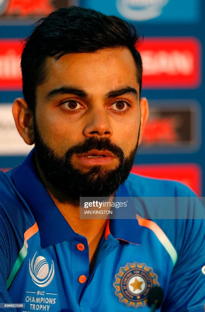 CRICKET-CT-2017-IND-PRESSER : News Photo