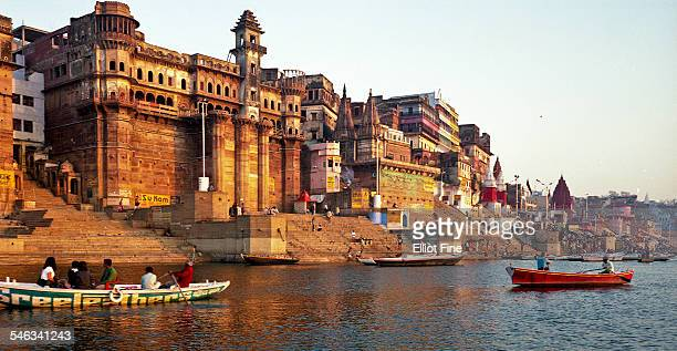india's cities & landmarks - varanasi stock pictures, royalty-free photos & images