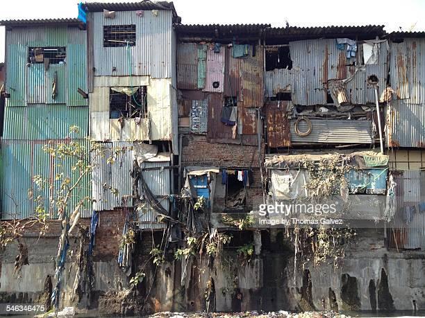 india's cities & landmarks - dharavi bildbanksfoton och bilder