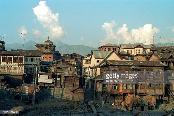 india's cities & landmarks - kashmir valley stock photos and pictures