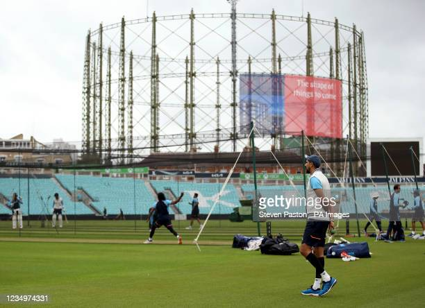 IndiaÕs Ishant Sharma during a nets session at the Kia Oval, London. Picture date: Tuesday August 31, 2021.