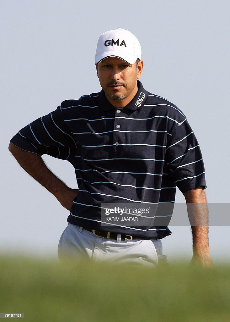 India's Jeev Milkha Singh takes part in the Qatar Masters Golf Tournament, 24 January 2008 in Doha. The 2.5-million-dollar Qatar Masters has grown in stature over the last few years and taken its central role in what has become known as the 'Desert Swing' which includes the Abu Dhabi Golf Championship and the Dubai Desert Classic.