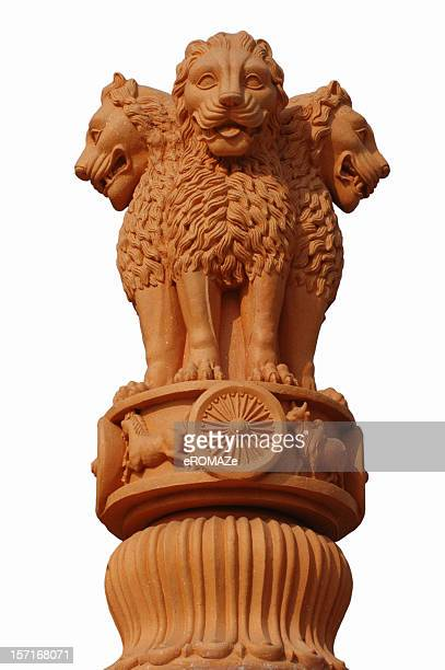 india's national emblem - national landmark stock pictures, royalty-free photos & images