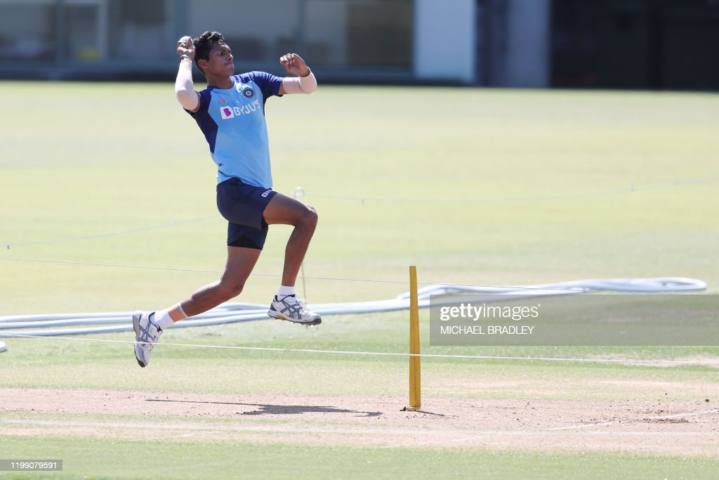 CRICKET-NZL-IND : News Photo