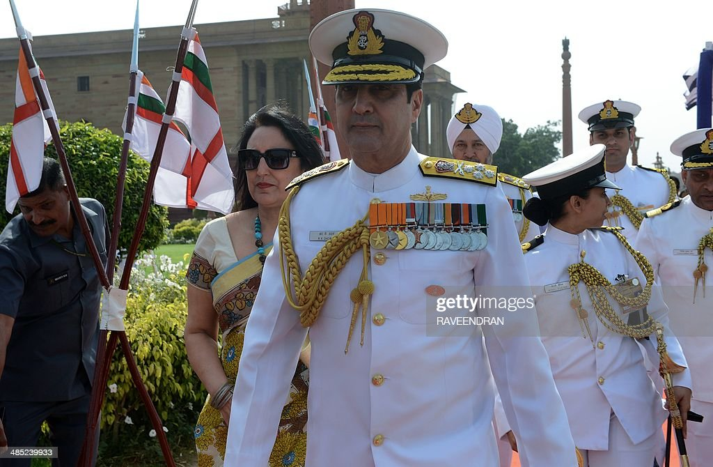 INDIA-DEFENCE-NAVAL-CHIEF : News Photo