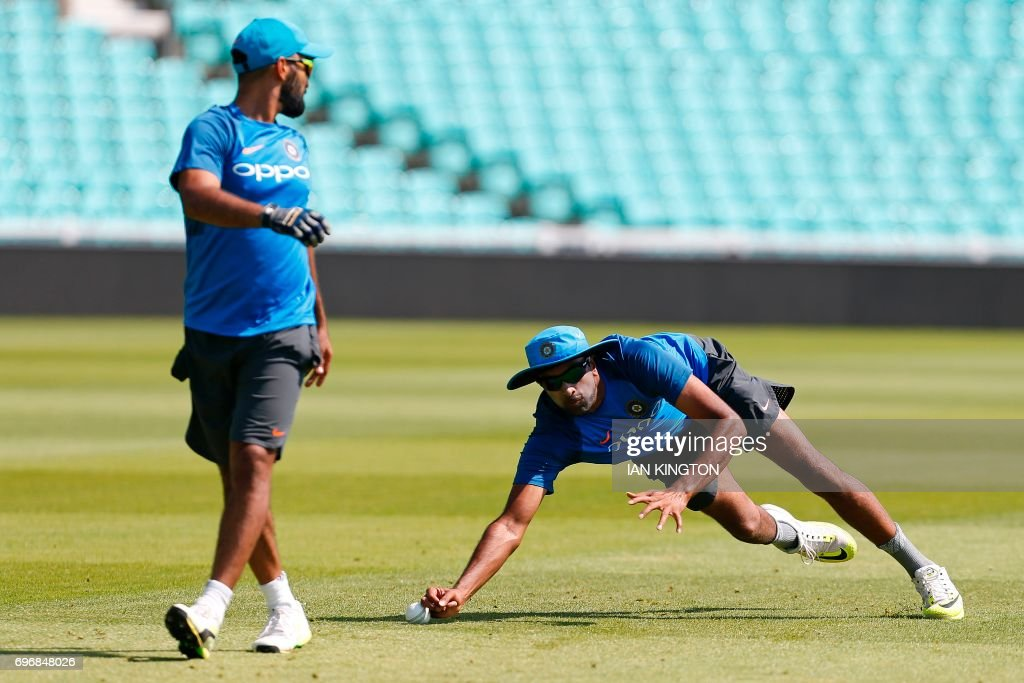 CRICKET-CT-2017-IND-TRAINING : News Photo
