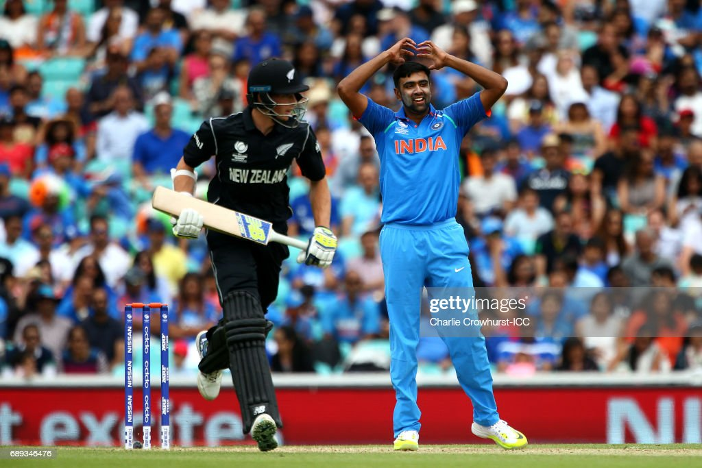 India v New Zealand - ICC Champions Trophy Warm-up : News Photo