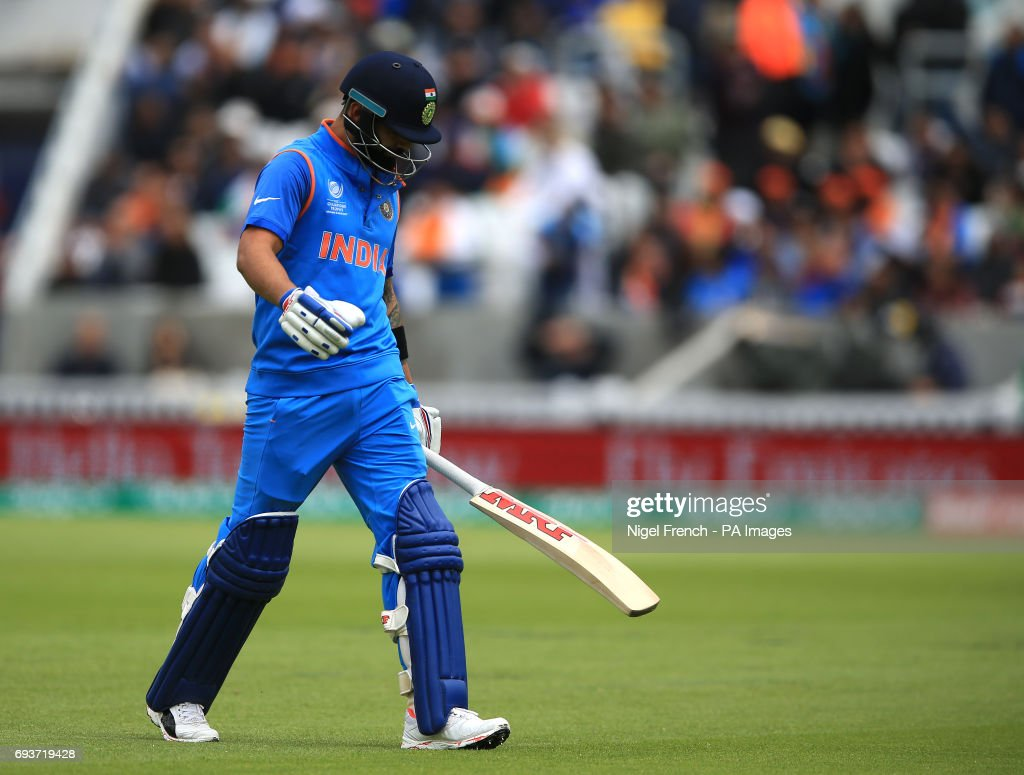 India v Sri Lanka - ICC Champions Trophy - Group B - The Oval : News Photo