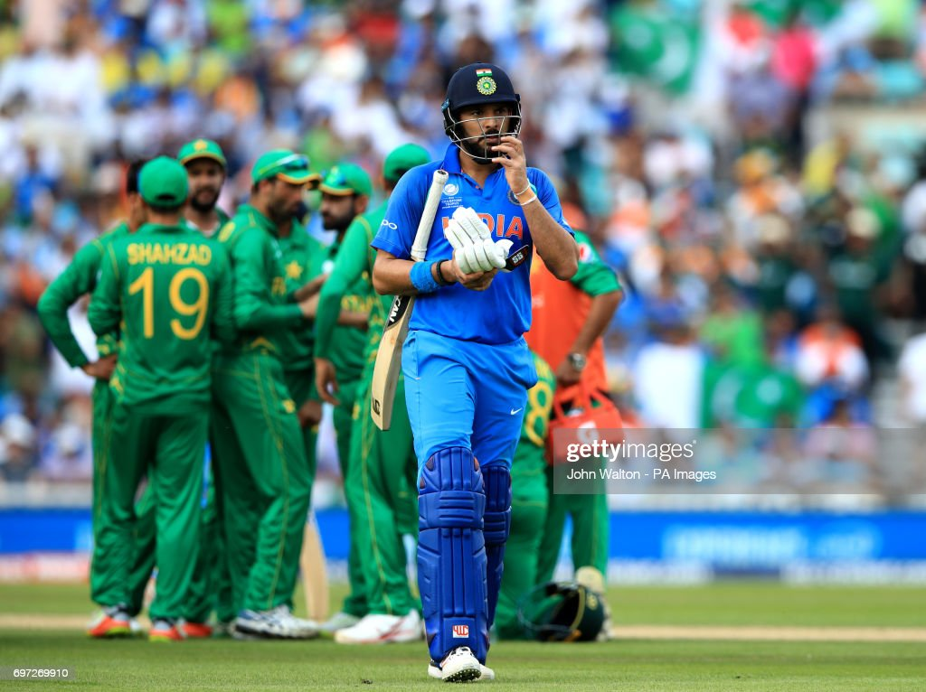 Pakistan v India - ICC Champions Trophy - Final - The Oval : News Photo