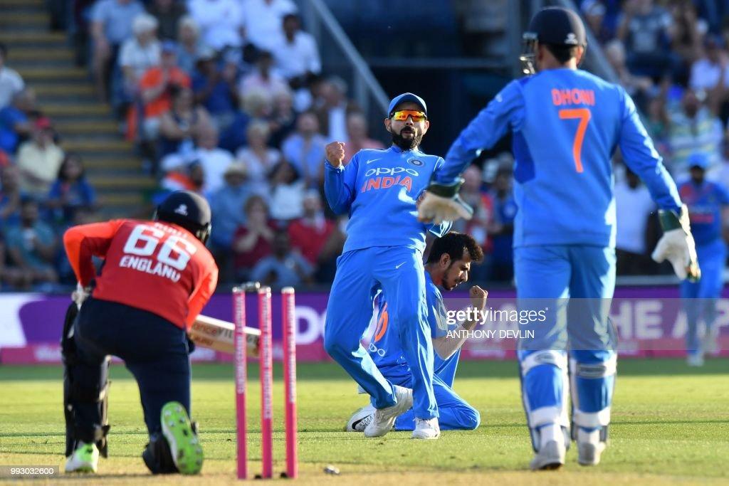 CRICKET-ENG-IND-T20 : News Photo