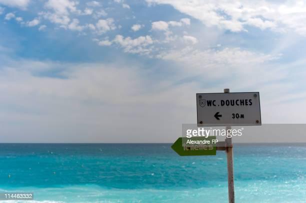Indication Signs at Nice