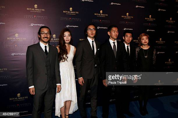 Indie band 'Run River North' attend the 12th Annual Unforgettable Gala at Park Plaza on December 7 2013 in Los Angeles California