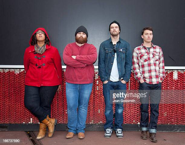 Indie band the Alabama Shakes are photographed for the Independent on November 19 2012 in Berlin Germany