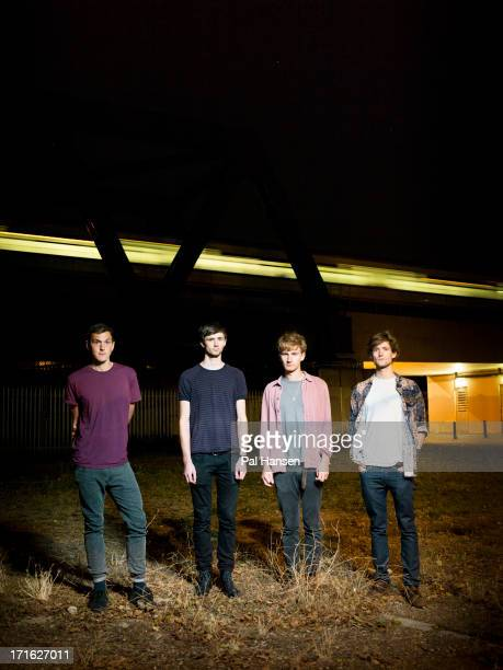 Indie band the Glass Animals are photographed for Under the Radar on September 18 2012 in London England