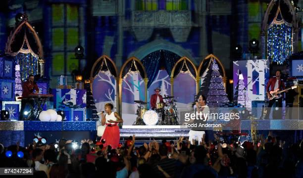 CELEBRATION Indie pop band Fitz and The Tantrums performs at Magic Kingdom Park at Walt Disney World Resort in Lake Buena Vista Fla Sunday Nov 5...