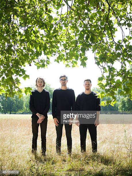 Indie rock band ALTJ are photographed for Under the Radar magazine on July 22 2014 in London England