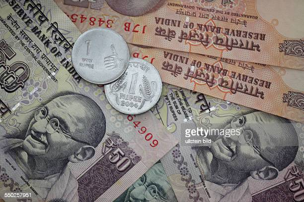 Indien Indische Rupee Rupie Rupi