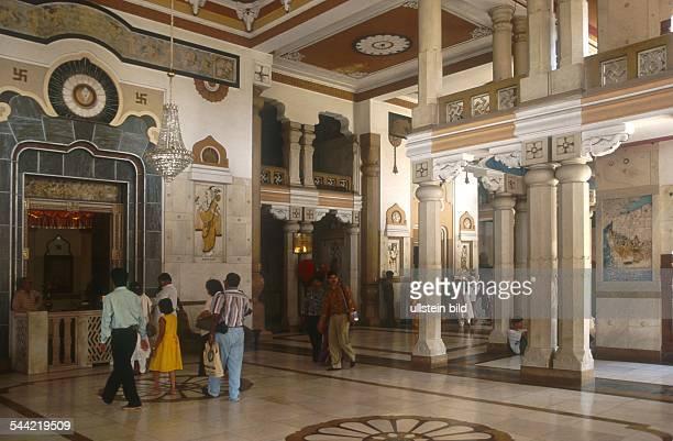 Indien, Neu Delhi: Lakshmi Narayan Tempel. - 2003