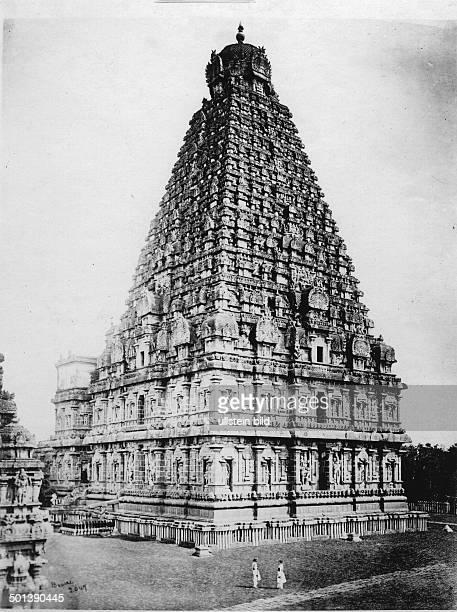 Brihadeeswara Temple probably in the 1910s
