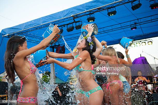 IndieSwim Ice Bucket Challenge Summer Daze Concert Series At Propoganda