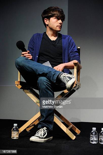 Indiewire senior editor Peter Knegt attends Meet the Filmmaker 'What Richard Did' during the 2013 Tribeca Film Festival at the Apple Store Soho on...