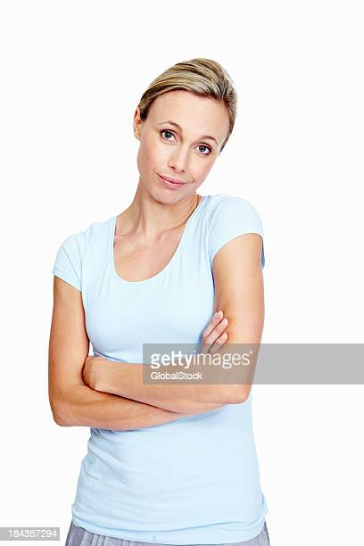 indifferent woman - impatient stock pictures, royalty-free photos & images