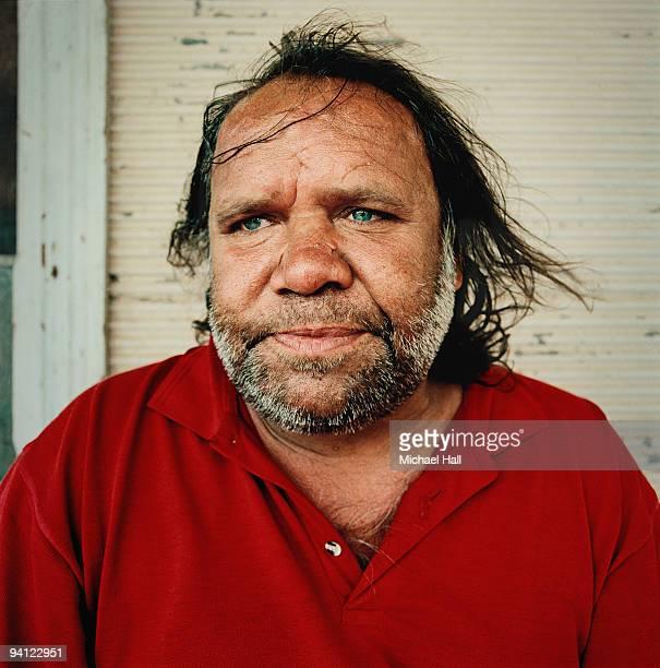 Indigenous man at home