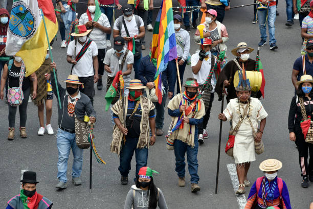COL: Indigenous Colombians March in Bogota to Demand Meeting With President Duque