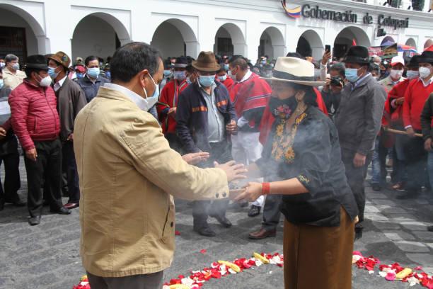 ECU: Indigenous Groups Demonstration Against Fuel Price Increase