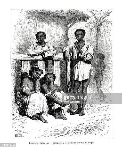 Indigenous people Venezuela 19th century