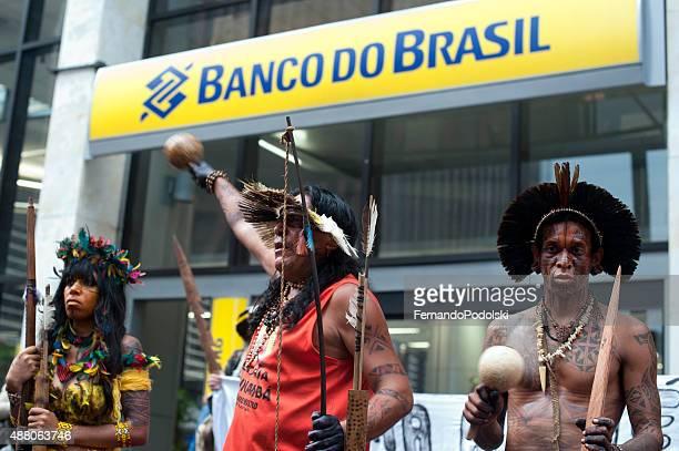 Protesto indígena