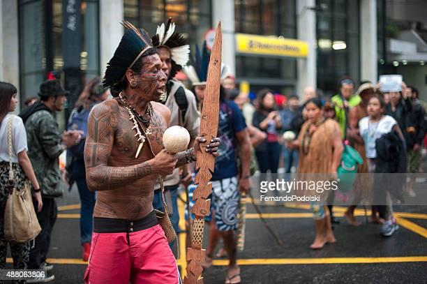 Protesto indígenas