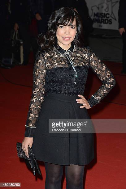 Indila arrives at the 16th NRJ Music Awards at Palais des Festivals on December 13 2014 in Cannes France