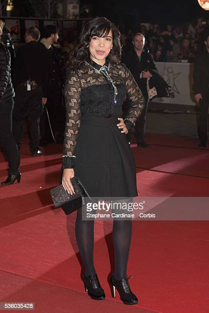 Indila attends the '16th NRJ Music Awards 2014' ceremony at Palais des Festivals on December 13 2014 in Cannes France