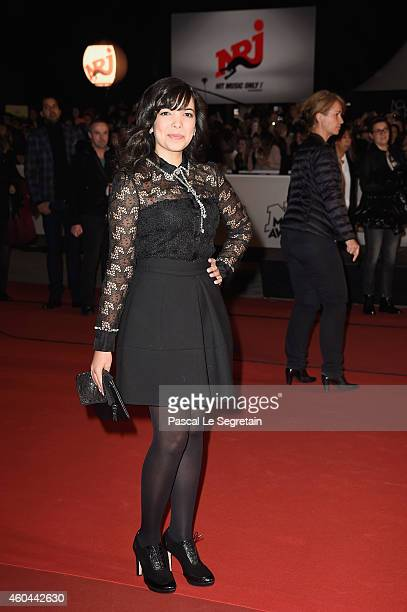 Indila attends the NRJ Music Awards at Palais des Festivals on December 13, 2014 in Cannes, France.