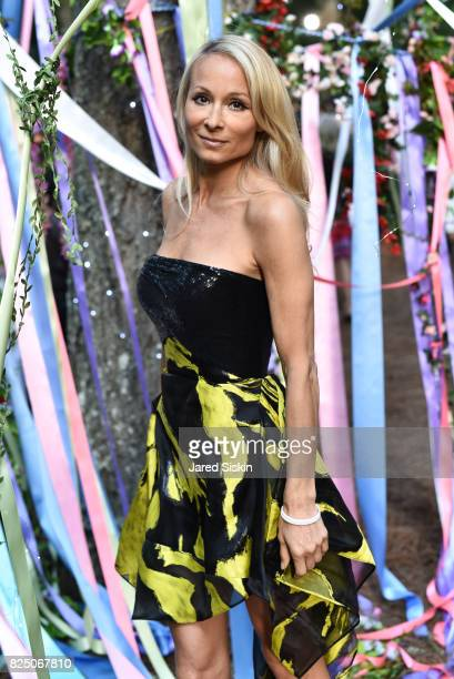 Indira Cesarine attends The 24th Annual Watermill Center Summer Benefit Auction at The Watermill Center on July 29 2017 in Water Mill New York