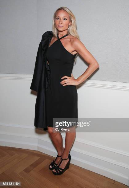 Indira Cesarine attends the APNE Aap dinner on September 21 2017 in New York City