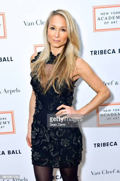 Indira Cesarine attends the New York Academy of Art Tribeca Ball Honoring Will Cotton at New York Academy of Art on April 3 2017 in New York City