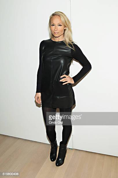 Indira Cesarine attends the Reserved Magazine Issue 3 launch x JElster pop up store opening at J Elster on March 15 2016 in New York City