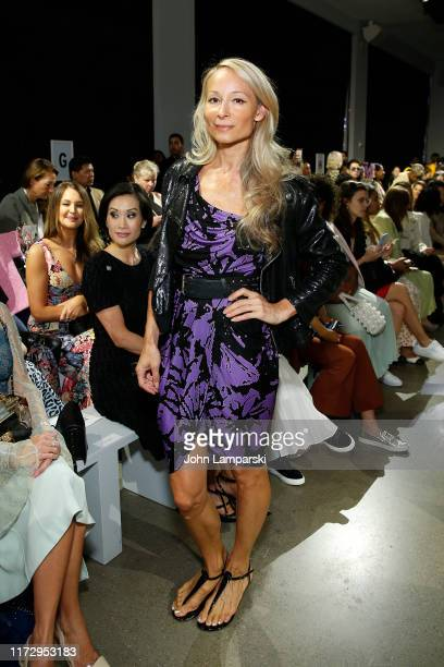 Indira Cesarine attends the Taoray Wang front row during New York Fashion Week The Shows at Gallery II at Spring Studios on September 07 2019 in New...