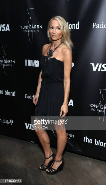 Indira Cesarine attends Toni Garrn Foundation Supermodel Flea Market 2019 Launch Party at The Blond on September 11 2019 in New York City
